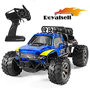 RC Car,1:18 Remote Control High-Speed Telecar,Offroad 2.4Ghz 2WD Remote Control Monster Truck,Gift for Kids and Adults