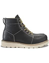 Men's Tradesman/Chocolate Brown Industrial and Construction Shoe