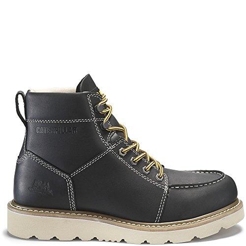 and Chocolate Construction Tradesman Brown Black Caterpillar Men's Industrial Shoe SEFXXn