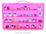 Life Made Better My Egg Crate Storage Organizer Compatible with The Hatchimals and Hatchimal Colleggtibles Brands - Durable Carrying Case for Mini Eggs, Easter Eggs & Speckled Eggs - Pink