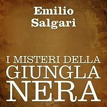 I misteri della giungla nera [The Mysteries of the Black Jungle] Audiobook by Emilio Salgari Narrated by Silvia Cecchini