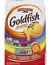 Pepperidge Farm Goldfish Biscuit, Colors Cheddar, 187g