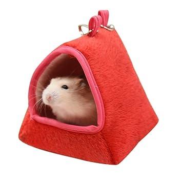 XMTPF Hamaca para hámster de cobaya, Cama de Dormir para Invierno cálida y pequeña casa de Animales: Amazon.es: Productos para mascotas
