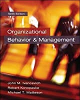 Organizational Behavior and Management, 10th Edition