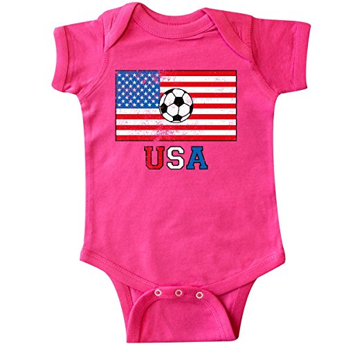 inktastic - USA Soccer Infant Creeper 24 Months Hot Pink 2e20f