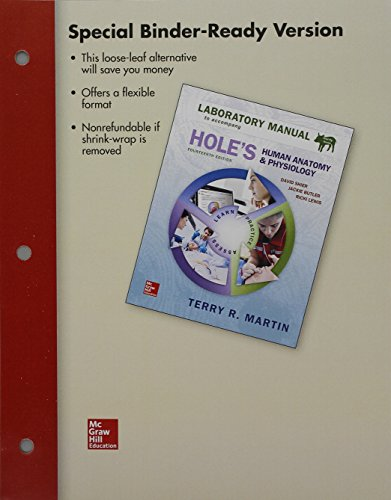 Loose Leaf Lab Manual for Hole's Human Anatomy & Physiology Fetal Pig Version -  Martin, Terry, Loose-leaf