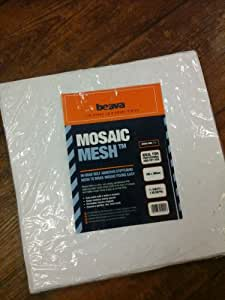 Mosaic Mesh Self Adhesive For Easier Fixing Of Mosaics x 11 by Beava