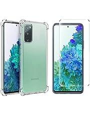 Capa Capinha Anti Queda Samsung Galaxy S20 Fe (6.5) + Pelicula De Vidro 9h - (C7COMPANY)