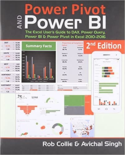 Power Pivot and Power BI: The Excel User's Guide to DAX, Power Query