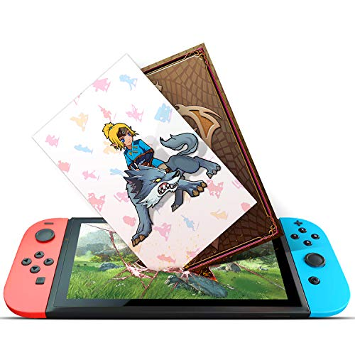 NFC Cards for the Legend of Zelda Breath of the Wild Switch Wii U, 22pcs with Cards Holder by FTHSA