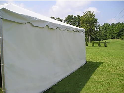 Moose Supply Party Tent Solid PE Material Sidewall for Weddings, Events, and Parties, 7-Foot and 8-Foot Tall, 10-Foot, 20-Foot, or 30-Foot Wide Side Wall Only Not Complete Tent