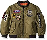 Diesel Big Boys' Outerwear Jacket (More Styles Available), Flight/Olive, 14/16