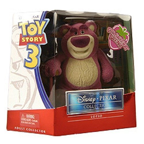 Mattel 2010 SDCC San Diego ComicCon Exclusive Toy Story 3 Collection Figure LotsO Huggin Bear Flocked Scented (Lotso Bear Toy Story 3)