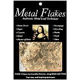 Speedball Mona Lisa Gold Metal Flakes, 3-Gram Pack