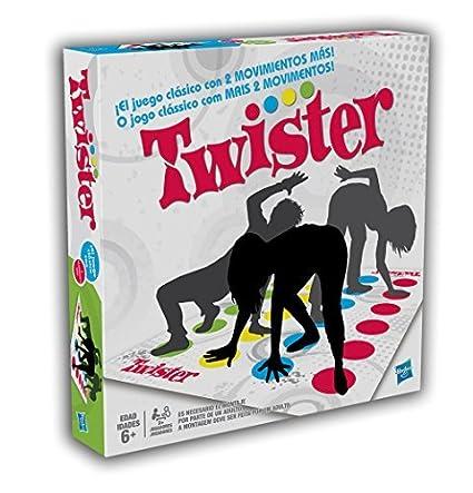 Hasbro Spiele 98831100 - Twister Kinderspiel Non Books