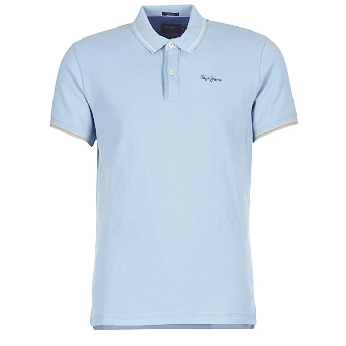 Pepe Jeans Pm540987 506 - Polo Angelico - Azul pálido Azul M ...