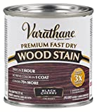 cherry furniture paint - Varathane 262028 Premium Fast Dry Wood Stain, 1/2 Pint, Black Cherry