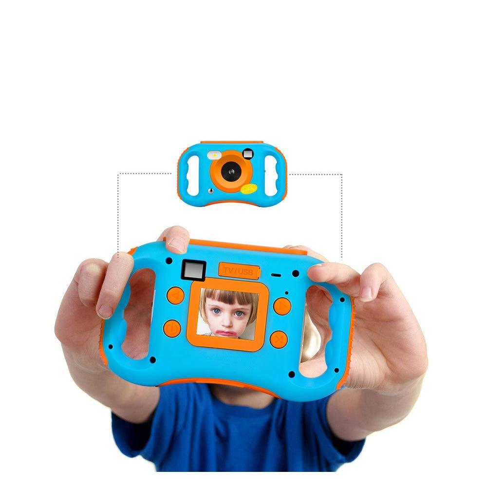 Ybriefbag Children's Camera CamKing Children's Camera 1.77 Inch Screen Mini Digital Camera Kids Mini Digital Camera (Color : Pink) by Ybriefbag (Image #4)