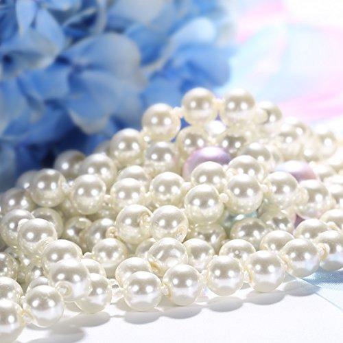 J.Ros/ée Collier Perle et Boucles doreilles Perles en Argent 925 Femme Hypoallerg/énique Bijoux Emballage CadeauS/érie de Amour Perle