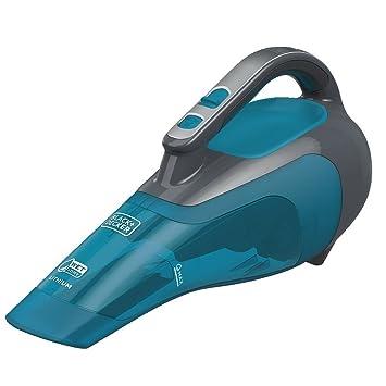 BLACK+DECKER HWVI225J01 Wet/Dry Cordless Lithium Hand Vacuum, 2.5Ah