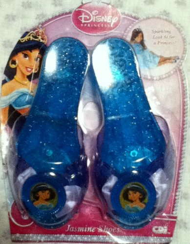 Jasmine Disney Princess Sparkle Shoes Aladdin by Creative Designs