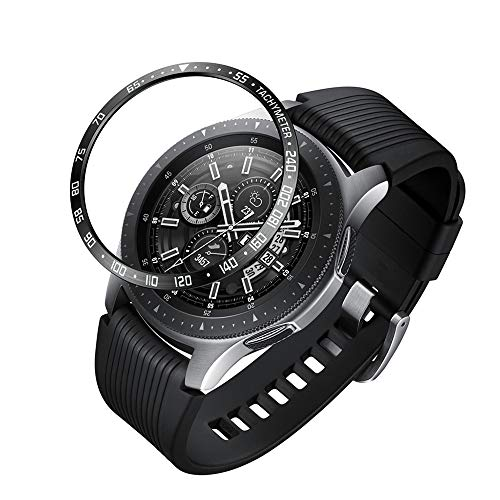 S-World 4Home- Sleeve Cover for Samsung Galaxy Watch 42 46MM Anti Scratch Stainless Steel Dial Steel Ring Dial Rim Frontier Smart Watch Parts