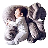 Toys : Grifil Zero Elephant Plush Toy Extra Large Size Animal Plush Doll Toy Grey 24 inch