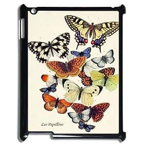 Butterfly ZLB580417 Custom Phone Case for Ipad 2,3,4, Ipad 2,3,4 Case
