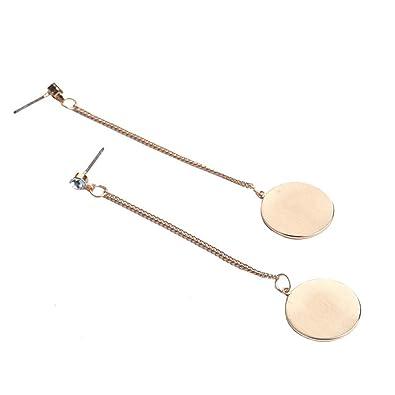 1d155f7df Qiyami Women Vintage Earring 9ct Gold Cubic Zirconia Stud Earrings Tragus  Earring Dangly Earrings Drop Earrings Swarovski Creole Clip On Earrings  Silver 925 ...