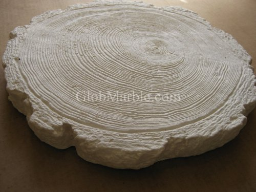 Globmarble Concrete Mold Stone, Stepping Stone Paver. Rubber Mold Log ()