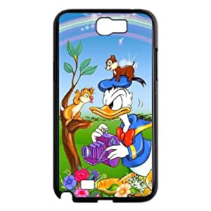 Phone Accessory for Samsung Galaxy Note 2 N7100 Phone Case Donald Duck D583ML