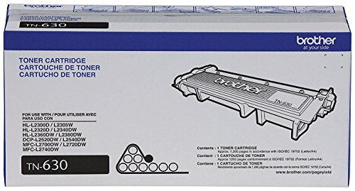 PC Hardware : Brother Genuine TN630 Mono Laser Toner Cartridge