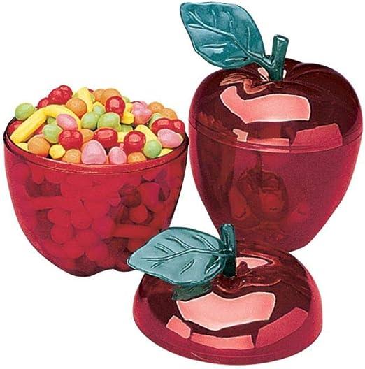 Fun Express Contenedor de Manzana roja para Recuerdos (Juego de 12) – Suministros para Profesores: Amazon.es: Hogar
