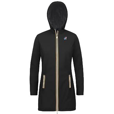 915bcb827210 K-Way - Blouson DENISE RIPSTOP MARMOTTA pour femme, manteau, tissu  extensible - Black-Grey A - x-large  Amazon.fr  Vêtements et accessoires
