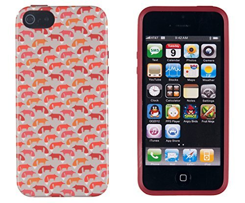 Cruise Vintage Print (iPhone 4S Case, DandyCase PERFECT PATTERNNo Chip/No Peel Flexible Slim Case Cover for Apple iPhone 4S / 4 [Vintage Dog Print])