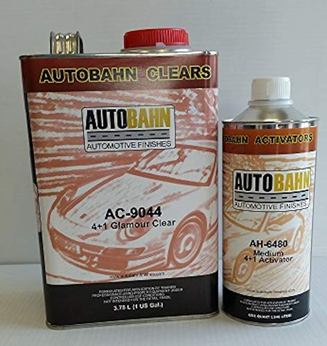 AUTOBAHN AC-9044 4+1 /AH-6480 Medium ACTIVATOR 4:1 Glamour Urethane CLEARCOAT Wet Wet Look Restoration CAR Paint - Urethane Supply
