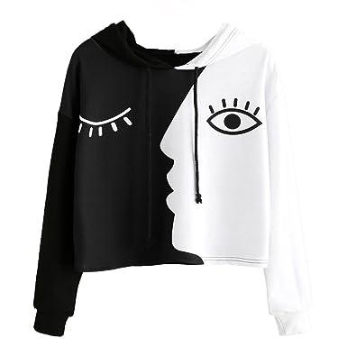 747a95a8ff5c60 Amazon.com  Zulmaliu Girl Sweatshirt