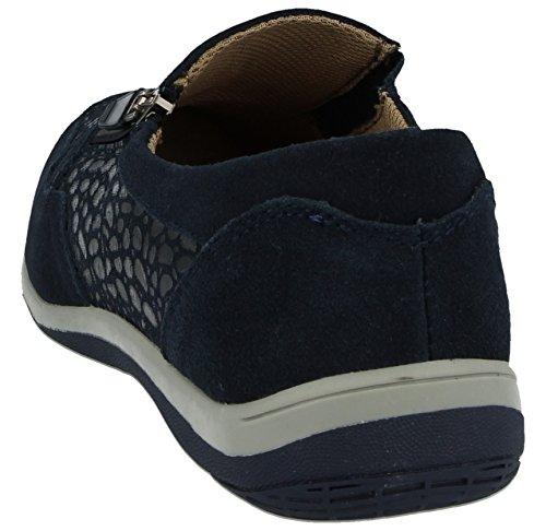 Éclair brenda Baskets Escarpins À Cuir Coussinet Décontracté En Navy Marcher Chaussures L Fermeture Pointure Bernie 41 Pour Femme 36 vfqWdnw4qA