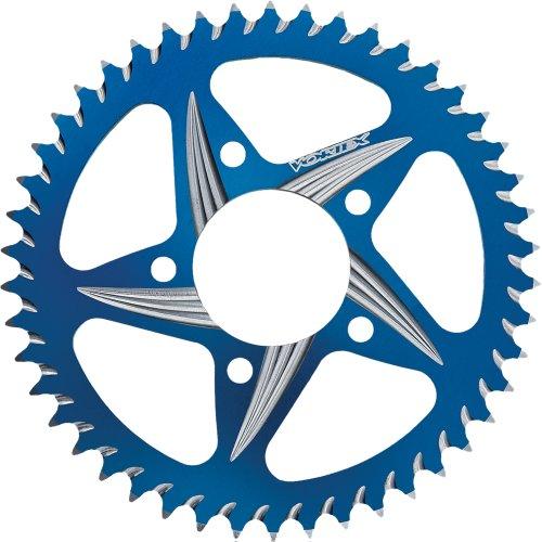 Material 45 - Vortex CAT5 Rear Sprocket - Blue - 45T , Sprocket Teeth: 45, Sprocket Position: Rear, Sprocket Size: 525, Color: Blue, Material: Aluminum 435CZB-45