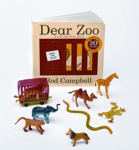 Primary Concepts, Dear Zoo 3-D Storybook Children's Book