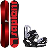 Sapient Fader 139 Youth Snowboard + Sapient Zeus Jr Bindings - Fits Youth Boot Sizes: 2,3,4,5,6