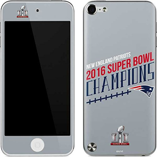 NFL New England Patriots iPod Touch (5th Gen&2012) Skin - New England Patriots 2016 Super Bowl LI Champions Vinyl Decal Skin For Your iPod Touch (5th Gen&2012)