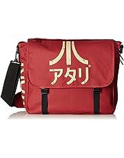 DIFUZED SAC Atari Avec BANDOUILLERE ET logotyp JAPONAIS barnryggsäck, 47 cm, röd (rouge)