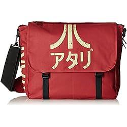Bioworld - Sac besace - Atari - Logo Japonais Rouge foncé - 8717973320913