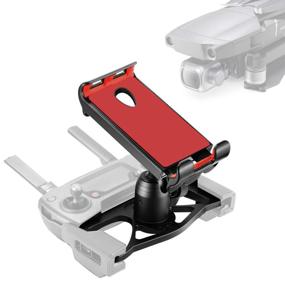 Techfection Mavic Tablet Mount Holde Aluminum-Alloy Foldable Tablet 4-12 Inchs Stand Holder Extender with Lanyard for DJI Mavic 2/Mavic Pro/Mavic Air/Spark Upgrade Accessories by Techfection