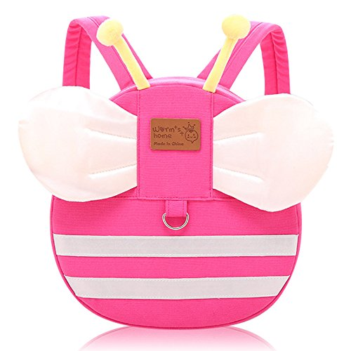 Vox Cartoon Backpacks For Toddlers Little Kids Backpack With Leash Preschool Backpack For Baby Girls