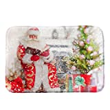 Merry Christmas Snowman Printing Pgojuni Welcome Doormats Indoor Home Carpets Decor 1pc 40x60CM (F)