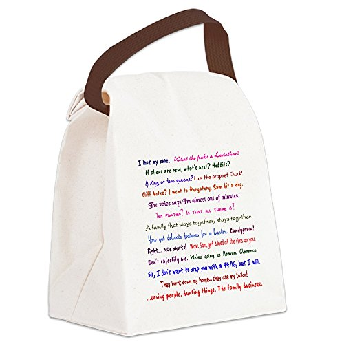 CafePress Supernatural Quotes Canvas Handle