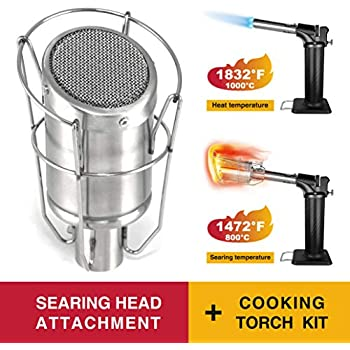 Amazon.com: SEARZALL   Stainless Steel Culinary Torch