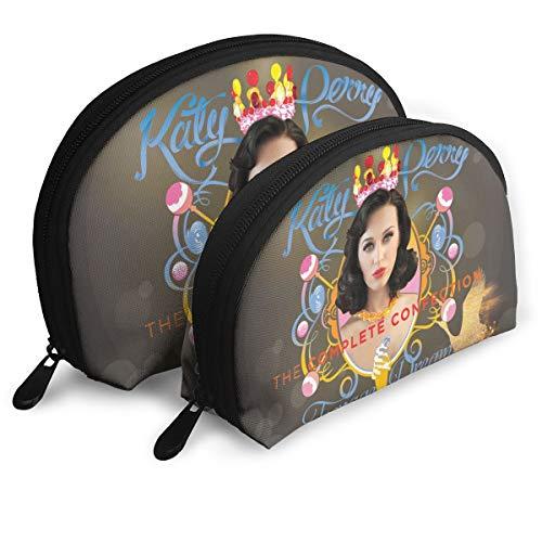 JacobKThompson Katy Perry Carrying Case Clutch Bag Storage Bag Coin Purse Travel Bag Handbag Women's Bag One Big One Small Bag]()